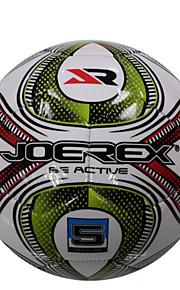 JOEREX 5# Unisex Soccers White 1 Piece PVC Waterproof Soccer