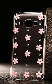 caso de bricolaje flores de color rosa patrón duro de la PC para a3 múltiples Samsung Galaxy (2016) / A5 (2016) / A7 (2016) / a9