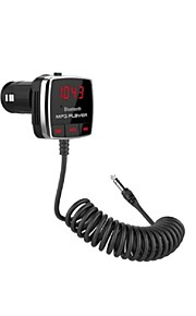FM Transmitter With Handsfree Car Kit And Support One USB Charger Port