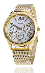 Xu™ Women's Gold Mesh Belt Quartz Watch Cool Watches Unique Watches