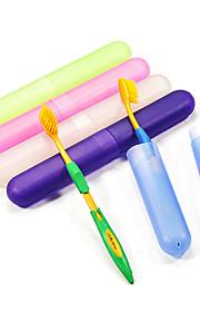 Travel Protetor/Porta Escova de Dentes Antibacteriano Acessórios de Toalete Plástico