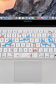 XSKN sjunga fågel tangentbord täcka silikonhölje skydd för macbook air / pro 13 15 17 tum, oss layout