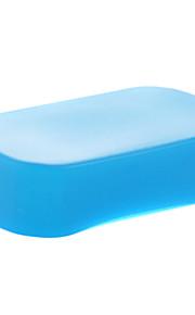 novo silício a1 flexível flash reflectido softbox difusor branco + amarelo + azul para Canon 600EX in-600EX