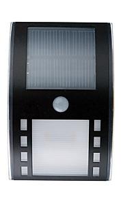 hry® 3leds hvit farge soldrevne ledet PIR bevegelse sensor utendørs bane vegglampe hage sikkerhet lampe