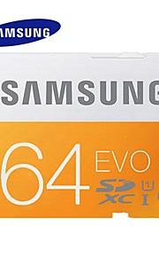 Samsung 64GB Clase 10 MicroSD/MicroSDHC/MicroSDXC/TFMax Read Speed48MB/S (MB/S)Max Write Speed10MB/S (MB/S)