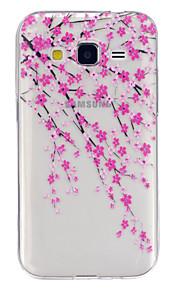 Per Samsung Galaxy Custodia Transparente / Fantasia/disegno Custodia Custodia posteriore Custodia Fiore decorativo TPU SamsungJ5 / Grand