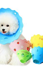 Cartoon Pringting Style Pet Collar against Biting