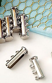 10stk halskæde kæde armbånd lås spænde krog 20x10mm