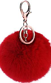 pom pom sjov bold nøglering til dekoration poser gave