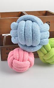 犬用品 おもちゃ 噛む用おもちゃ 織物 織物 グリーン / ブルー / ピンク