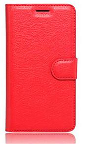 prægede kort tegnebog beslag typen beskyttelsesomslag til lenovo k5 mobiltelefon