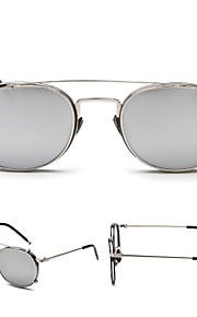 Solbriller kvinder's Retro/vintage / Mode Øjenbrunslinje Sort / Sølv / Guld Solbriller Full-Rim