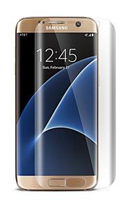 hat-prince schermo pet HD rimuovono la protezione della protezione pellicola protettiva schermo intero per la galassia s7 bordo / g9350