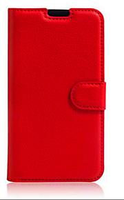 prægede kort tegnebog beslag typen beskyttelsesomslag til lg k8 mobiltelefon