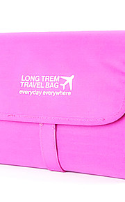 Travel Toiletry Bag / Inflated Mat Travel Storage Fabric Yellow / Blue / Green / Pink