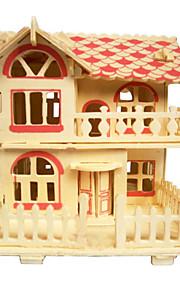 drewno romantyczne kabiny 3d puzzle zabawki do majsterkowania