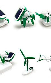 6 1 brinquedo criativo DIY solares