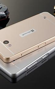 caso ultra delgado de aleación de aluminio de Bling del metal de plástico acrílico de la contraportada para el lumia 640 Microsoft 640 xl