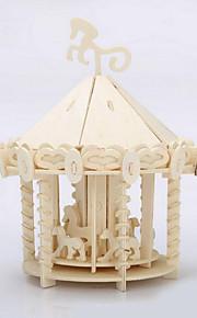 crianças madeira parque infantil quebra-cabeças 3D DIY brinquedos