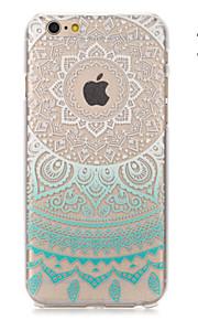 """solsikke malt mønster hard plast tilbake dekke for iphone6plus / 6splus 5,5 """""""