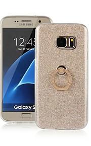 il nuovo telefono cellulare caso telefono scintillio staffa dell'anello creativo per la galassia S7 / s7edge / S6 / s6edge / S5 / s3