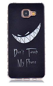 Smile Pattern Slip TPU Phone Case For Samsung Galaxy A3(2016)/A5(2016)
