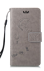 Butterflies Around Open Wallet Holster for iphone 5/5S/iphone SE