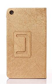 """para el lenovo """"ficha 2 a7-20f caso cubierta de cuero elegante del soporte para la lengüeta 2 lenovo a7-20f 7"""" 7 caso de la cubierta de la"""