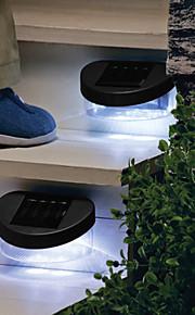 8Led valla de energía solar lámpara de luz luces de alcantarilla vía de jardín al aire libre de la pared patio