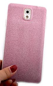 cassa del telefono di TPU scintillio per Samsung Note 3/4/5 (colori assortiti)