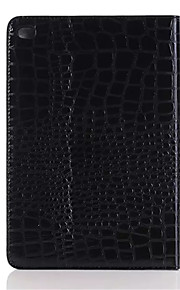 Fashion High Quality Slim Crocodile Leather Case for iPad Mini 4 Smart Cover With Stand Alligator Pattern Case