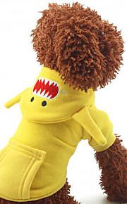 Cães Casacos Vermelho / Azul / Amarelo Inverno / Primavera/Outono Clássico Fantasias / Fashion-Lovoyager