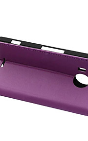 stile di vibrazione copertura del raccoglitore con la fessura per carta per il caso di Nokia 950 XL Case di moda Cass grano trama modello