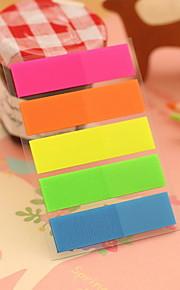 Solid Color Stripe Self-Stick Notes(1 PCS)