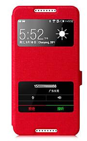 casos de cuerpo completo de cuero de la PU para HTC Desire 820