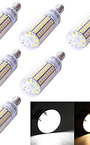 5W E14 LED-kornpærer T 99 SMD 5730 350 lm Varm hvit / Kjølig hvit Dekorativ AC 220-240 / AC 110-130 V 6 stk.