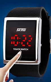 relógios unissex relógio Skei femmes dos homens de gel de sílica toque multifuncional montre desporto impermeável Watch