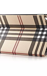 HQ Ultrathin luxury grid Leather Case For iPad Air 2 Smart Cover For Apple iPad Air 2 9.7 inch Tablet