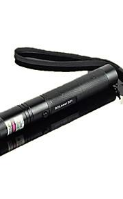 ls319 G301 foco queimar feixe visível caneta laser ponteiro laser verde (5mW, 532nm, preto)