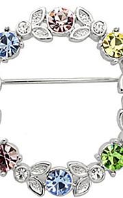 fine smykker rhinestone diamantbroche for kvinder
