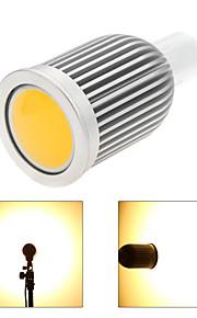 1 stk. Bestlighting GU10 7W 1 COB 850 lm Varm hvit / Kjølig hvit MR16 Dimbar LED-spotpærer AC 220-240 / AC 110-130 V