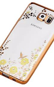 söpö salainen puutarha kukka bling TPU kotelo Samsung Galaxy Note 3/4 huomautuksessa / note 5 (eri värejä)