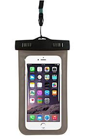 6,0 inches generel pvc undervands vandtæt pose taske til Huawei P9 / P9 lite / P8 / P8 lite / mate 7 / nexus 6p (assorterede farver)