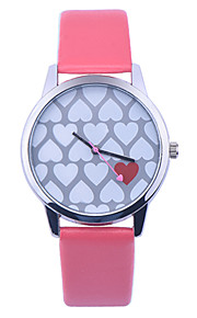 New Fashion Leather Strap Women Geneva Watch Hot Casual Love Heart Quartz Watch Reloj Mujer Relogio Feminino