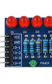 4p ledet diode PWM dimming modulen rødt lys - blå + rød + flerfarget egnet for Arduino vitenskapelig forskning