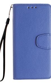 la cartera de cuero repujado deja abierto para Huawei Y530 / y5 / Y560 / compañero de 7 / p8 / p8lite