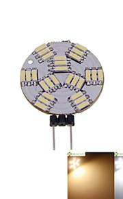 5 stk. SENCART G4 3W 27 SMD 4014 300-360 lm Varm hvit / Naturlig hvit MR11 Dimbar LED-spotpærer DC 12 V