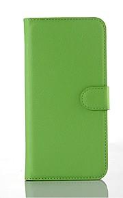 PU carta di cuoio del supporto di fondina telefono per Samsung Galaxy A8 (colori assortiti)