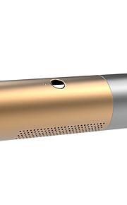 altoparlante della carta multifunzionale del bluetooth torcia elettrica principale impermeabile