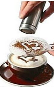8pcs kaffe nyhed fancy kaffe garland skimmel udskrivning skimmel